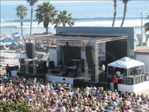 Oceanside Pier Amphitheatre in Oceanside, California
