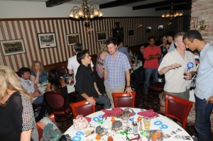 Peter White's 60th birthday party at the Robin Hood British Pub in Sherman Oaks, California (Photo by David Hopley)