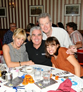 Christiane Braun, Luis Del Arroz, Peter White & Emma Braun (photo by David Hopley)