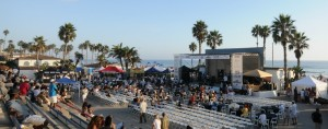 Lites-Out Jazz at the Beach at the Oceanside Pier Amphitheatre (photo by David Hopley)