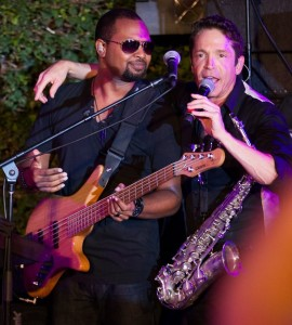 Nathaniel Kearny Jr. & Dave Koz (photo by Ambrosevents.com/Ellis Moore Photography)