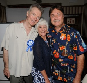 Peter White, Sherry Fisher & John Barnick (photo by David Hopley)