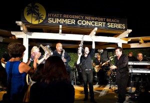 Dave Koz & Friends Summer Horns at the Hyatt Regency Newport Beach Summer Concert Series (photo by Ambrosevents/Ellis Moore Photography)