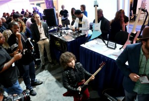 Regardless of age, the 2015 NAMM show is a musician's dream destination (Photo by Jesse Grant/Getty Images for NAMM)