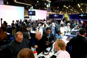 Media Preview Day for the 2015 NAMM show  at the Anaheim Convention Center on Jan. 21, 2015 (Photo by Jesse Grant/Getty Images for NAMM)