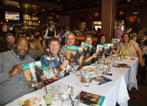 Smooth Jazz News at Spaghettini Fine Dining & Entertainment in Seal Beach, CA  (Photo by Pat Benter)
