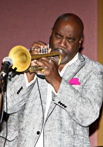 Joey Sommerville performing at the Smooth Jazz News 15th Anniversary brunch party at Spaghettini in Seal Beach, CA (Photo by Ambrosevents.com/ellismoore.com)