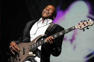 Nathan East, GRAMMY-nominee for his self-titled debut album on the Yamaha Record Label (Photo by David Hopley)