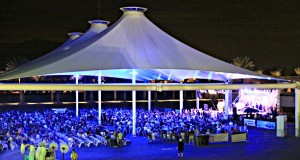 Performance Pavilion at the Indian Wells Tennis Garden during the 2014 Desert Lexus Jazz festival