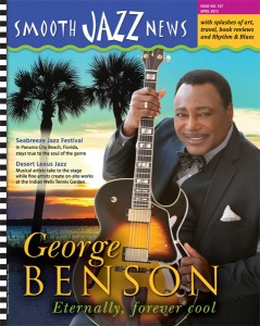 April 2015 issue of Smooth Jazz News featuring George Benson