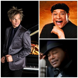 Brian Culbertson, Al Jarreau and George Benson are scheduled to perform at the 2015 Seabreeze Jazz Festival