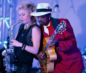 Mindi Abair & Nick Colionne (Photo by KT Jones)
