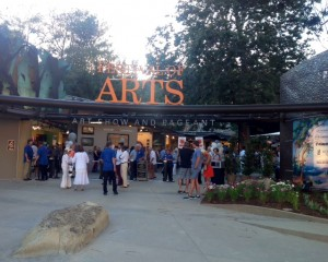 Festival of Arts entrance in Laguna Beach, California
