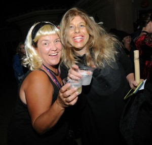 Kelly Cole and Lori Stoll enjoying the Elliot's Halloween Bash (Photo: David Hopley)