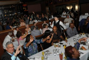 Smooth Jazz News' 15th Anniversary Brunch & Jam Session at Spaghettini Seal Beach in 2015 (Photo by David Hopley)