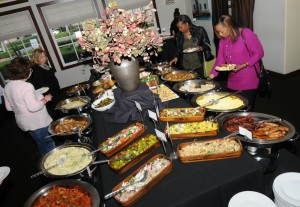 Brunch buffet at Spaghettini Fine Dining & Entertainment in Seal Beach, California (photo by David Hopley)