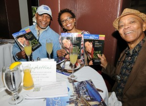 Jazz fans enjoying DW3 & the Smooth Jazz News Anniversary Brunch at Spaghettini (photo by David Hopley)