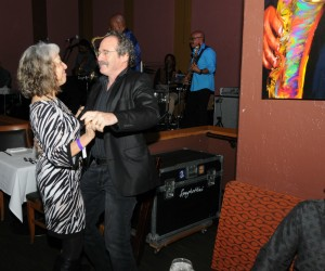 Joanne & Herb Hein dancing at Smooth Jazz News' 16th anniversary brunch & jam session (photo by David Hopley)