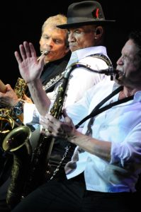 David Sanborn, Randy Jacobs & Dave Koz jammin' in San Diego (Photo by David Hopley)