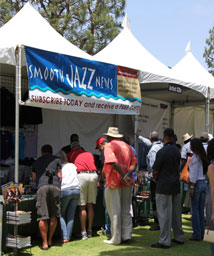 SmoothJazzNews booth